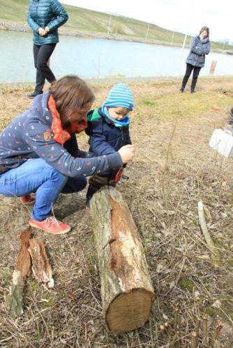 Für die Kleinsten mit Handschrauber © Foto: Lehrke