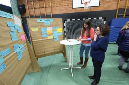 Im Anschluss ging es dann darum, konkrete Projektideen zu benennen, um die Ziele zu erreichen. © Foto: Lehrke